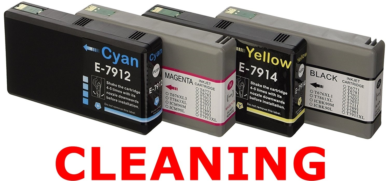 EPSON PRINT HEAD CLEANING, Epson Printhead Cleaning: