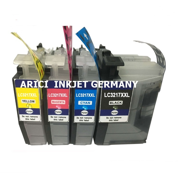 WIEDERBEFUeLLBARE_PATRONEN_FUeR_Brother_LC-3217,_REFILLABLE_TINTENPATRONEN_FUeR_Brother_LC-3217,_REFILL_PATRONEN_FUeR_Brother_LC-3217_MIT_AUTO_RESET_CHIPS